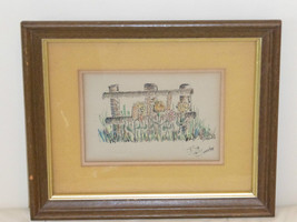 Bill Bender Signed Original Framed Painting - $99.00