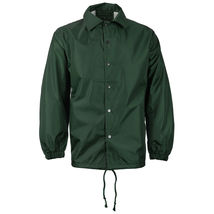 Renegade Men's Lightweight Water Resistant Button Up Windbreaker Coach Jacket image 6