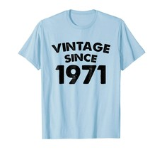 Brother Shirts - Vintage Since 1971 Birthday Gifts Awesome Legendary Nov... - $19.95+