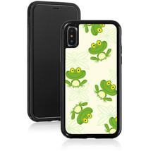 For Apple iPhone X XS Max XR Shockproof Hard Case Cover 933 Green Happy ... - $14.99