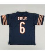 Nike Chicago Bears NFL On Field Jersey Youth Medium 5-6 Jay Cutler #6 Ho... - $16.49