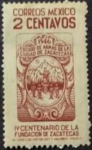 1946 Mexico Zacatecas Postage Stamp - $1.95