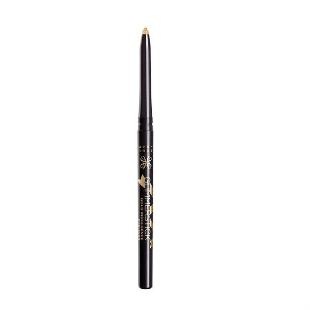 Avon True Glimmerstick Gold indulgence Eyeliner ROSE GOLD (.35 GR.) - $3.96
