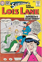 Superman's Girlfriend Lois Lane Comic Book #30, DC Comics 1962 VERY GOOD+ - $22.17