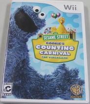 Sesame Street: Cookie's Conteggio Carnival (Nintendo Wii, 2010) - $9.88
