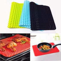 40x27cm Pyramid Bakeware Pan 4 color Nonstick Silicone Baking Mats Pads ... - $10.90