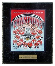 2015 Stanley Cup Champions Chicago Blackhaws Team 8x10 Photo Plaque with... - $24.49