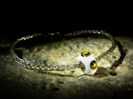 Spell Of Luck Joy Happiness 999 Silver Amulet Bracelet Izida Haunted No Djinn - $155.00