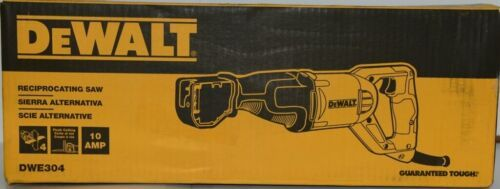 DeWalt DWE304 Reciprocating Saw Corded 10AMP with 4 Position Keyless Blade Clamp