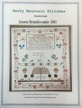 Smoky Mountain Stitches Historic Reproduction Samplers Cross Stitch Patt... - $11.35+