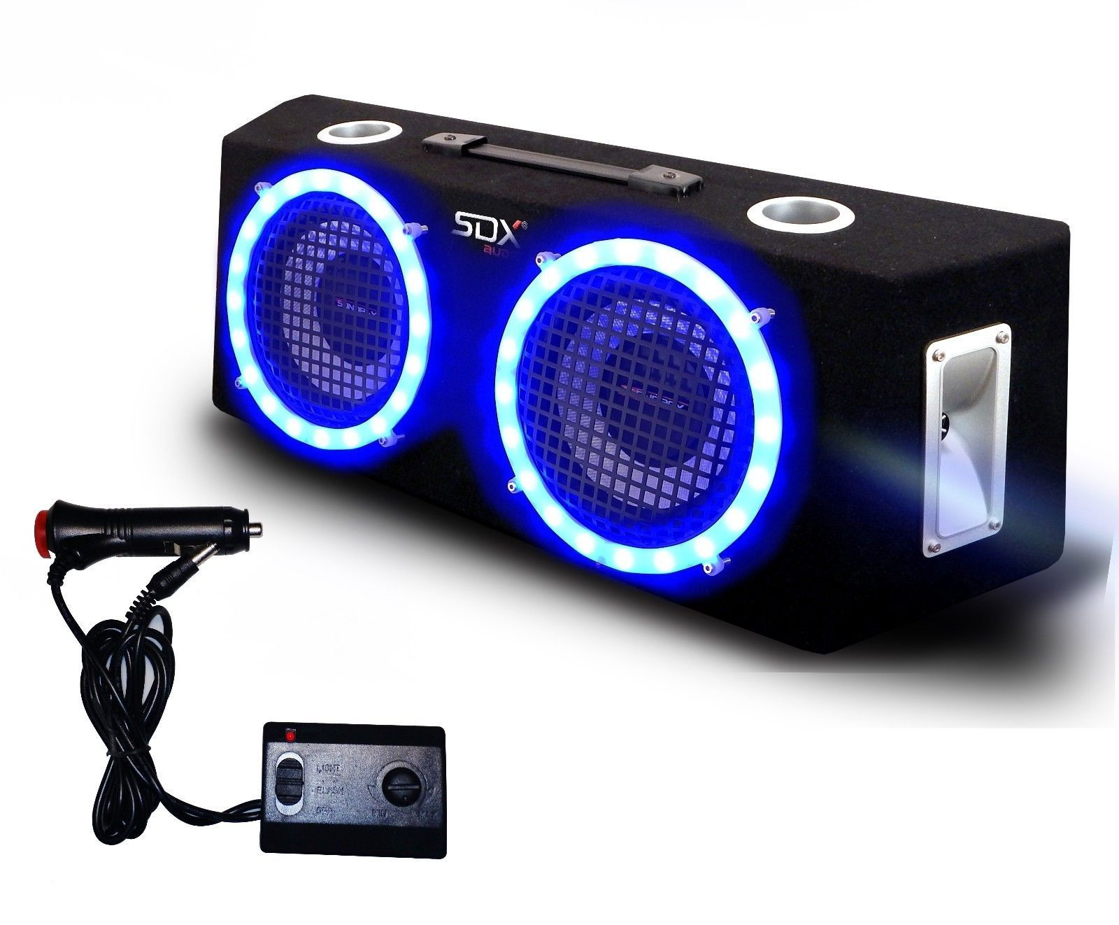 "SDX 8"" 2-Way Full Range LED Speaker Box (BB-E208) Refurbished"