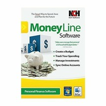 MoneyLine Personal Finance Software Easy Home Accounting and Checkbook S... - $42.75
