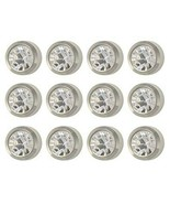 Caflon Surgical Steel White Stone 3mm Mini Ear Piercing Earring Studs 12... - $18.95