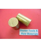 """JumpingBolt 2 Pieces 1-1/2"""" Brass C360 Solid Round Rod 3"""" Long Lathe Bar... - $89.67"""