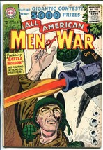 All American Men Of War #36 1956-DC-JOE KUBERT-INDIAN STORY-vg Minus - $56.75