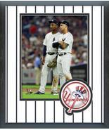 Miguel Andujar & Gleyber Torres 2018 Yankees-11x14 Team Logo Matted/Fram... - $43.55