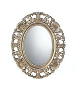 """Cool House Mirror 8.5"""" x 12.5"""" Oval Antique Look Decorative Wall Hall Ba... - $85.84"""