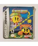 Ms Pac Man Maze Madness & PacMan World GBA Nintendo Gameboy Advance CIB ... - $9.85