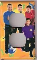 Single Outlet Light Switch Plate Cover of the Wiggles