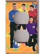 Single Outlet Light Switch Plate Cover of the Wiggles - $6.75