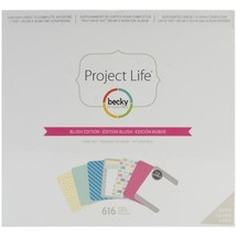 American Crafts 380041 Project Life Core Kit-Blush, 616/Pkg - $46.99
