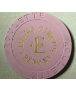 """1990's Roulette Chip From """"Circus-Circus Hotel & Casino"""" - (sku#2160) - $2.69"""