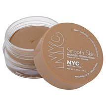 NYC Smooth Skin Mousse Foundation, Natural Beige by NYC - $14.69