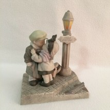 We've Only Just Begun Figurine Kissing Boy & Girl Train Station Kim Ande... - $19.75