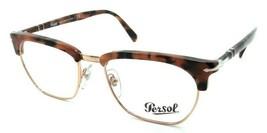 Persol RX Eyeglasses Frames 3196 V 1069 53-19 Pink Tortoise Tailoring Edition - $120.54