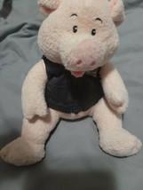 """Harley Davidson MOTORCYCLE Plush 6"""" Pig Stuffed Animal 2004 - $14.85"""