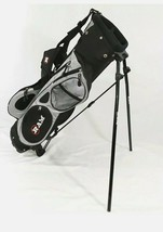 """Ram Golf Bag Stand & Cover 3 Way Divider, 5 Pockets, Youth 31"""" Tall Blac... - $49.45"""