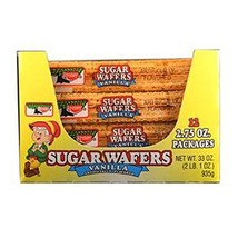 Keebler Sugar Wafers Vanilla, 12 Count (COOKIE&CRACKER - SNACK SIZE) - $19.99