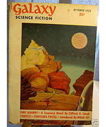 GALAXY SCIENCE FICTION FIRST EDITION OCTOBER 1950 - $79.89