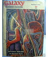 GALAXY SCIENCE FICTION FIRST EDITION AUGUST 1951 - $22.99