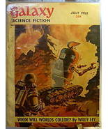 GALAXY SCIENCE FICTION FIRST EDITION JULY 1952 - $22.99