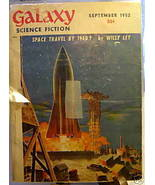 GALAXY SCIENCE FICTION FIRST EDITION SEPTEMBER 1952 - $22.99