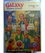 GALAXY SCIENCE FICTION FIRST EDITION OCTOBER 1952 - $22.99