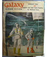 GALAXY SCIENCE FICTION FIRST EDITION AUGUST 1954 - $22.99