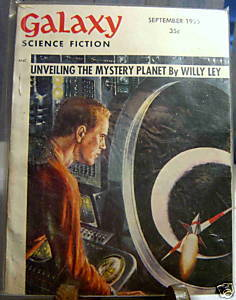 GALAXY SCIENCE FICTION FIRST EDITION SEPTEMBER 1955