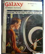 GALAXY SCIENCE FICTION FIRST EDITION SEPTEMBER 1955 - $22.99
