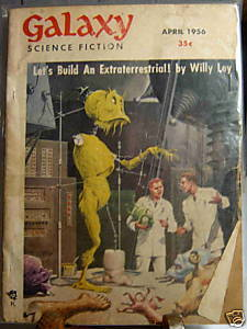 GALAXY SCIENCE FICTION FIRST EDITION APRIL 1956