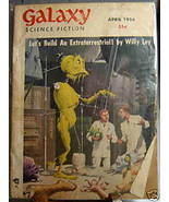 GALAXY SCIENCE FICTION FIRST EDITION APRIL 1956 - $79.89