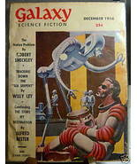 GALAXY SCIENCE FICTION FIRST EDITION DECEMBER 1956 - $79.89