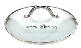"""Simply Ming 9-1/2"""" Vented Tempered Glass Cookware Lid - $23.75"""