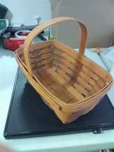 Longaberger Heartland Small Chore Basket - Fixed Handle - 1992 - $13.75