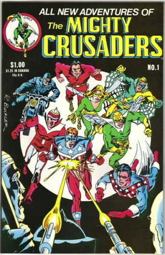 Adventures of The Mighty Crusaders Comic Book #1 Archie 1983 FINE+