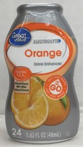 Great Value Electrolyte Orange Liquid Water Drink Enhancer 1.62 oz - $4.88