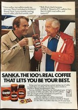 1979 Sanka Instant Coffee AD Father Knows Best Marcus Welby Actor Robert... - $10.75
