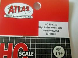 Atlas # 4002052 High Railer Wheel Sets 2 Pieces 3D Printed Accessories HO Scale image 2