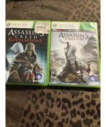 Assassin's Creed: Revelations And Assassins Creed III (Microsoft Xbox 36... - $9.50